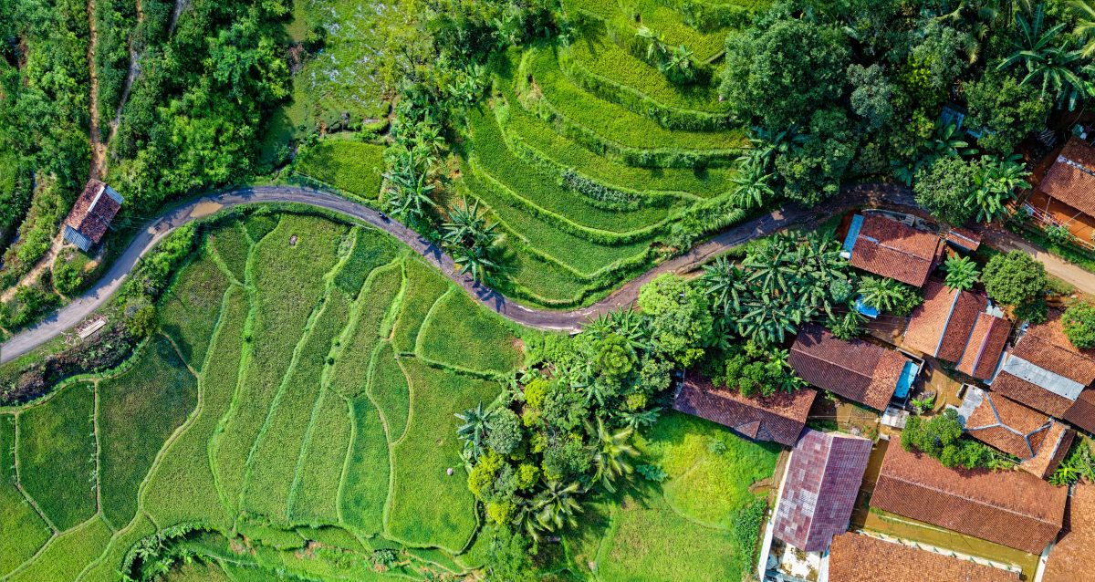 Rumpin Indonesia Ariel View
