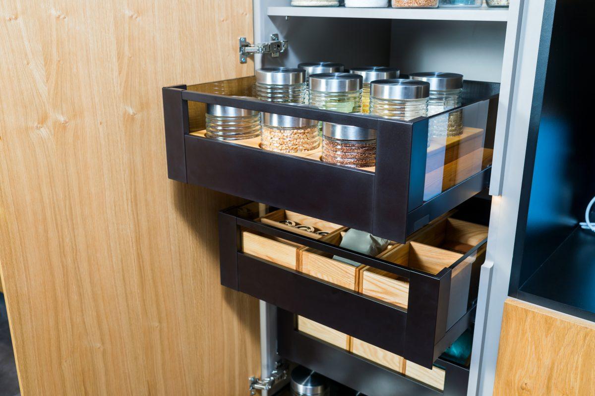 kitchen drawer storage